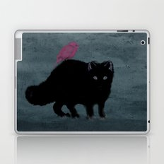 Cat and bird friends! Laptop & iPad Skin
