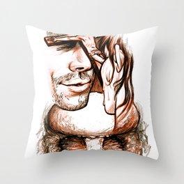 Apocalypse kiss Throw Pillow