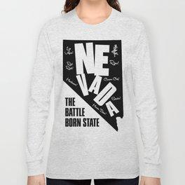 NEVADA THE BATTLEBORN STATE SUPERCOOL T-SHIRT Long Sleeve T-shirt