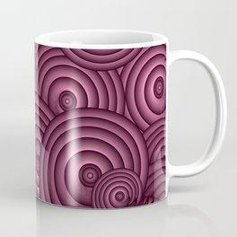 Aubergine Swirls Coffee Mug
