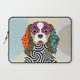 king charles cavalier spaniel Laptop Sleeve