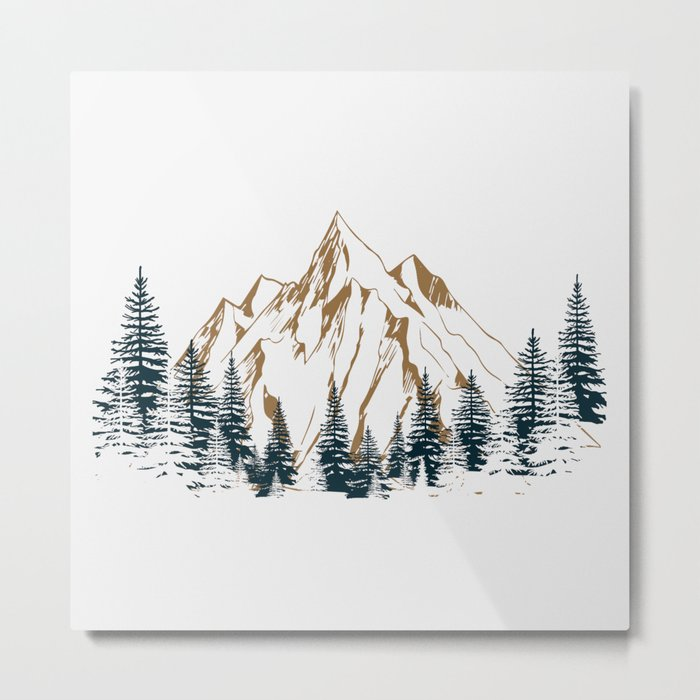 mountain # 4 Metal Print