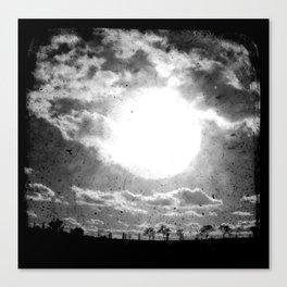 The Sun - Through The Viewfinder (TTV) Canvas Print