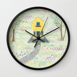 These Happy Golden Years Wall Clock