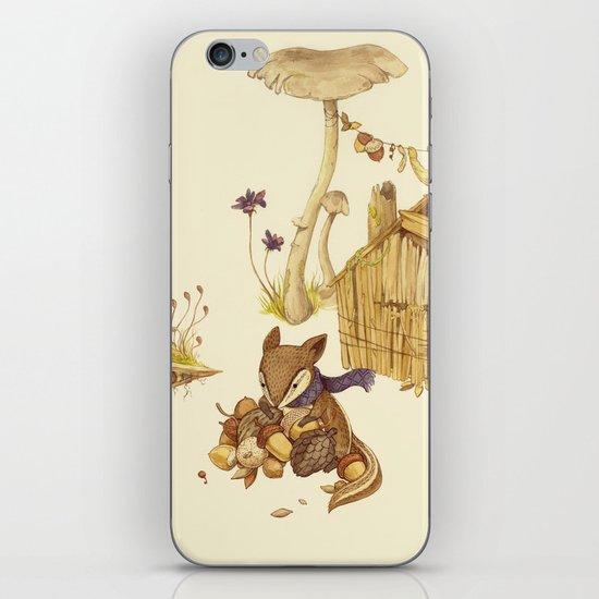 Harvey the Greedy Chipmunk iPhone & iPod Skin