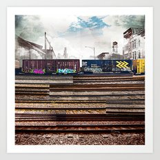 Mage Train Art Print