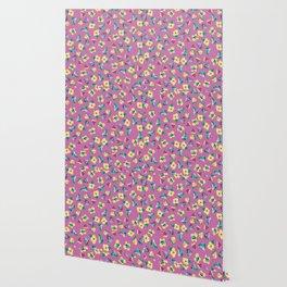 Happy Flower Cuts Wallpaper
