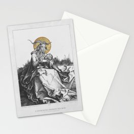 The Wet Nurse of the Woods Stationery Cards