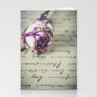 letter Stationery Cards featuring Love letter by Maria Heyens