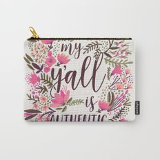 My Y'all is Authentic – Vintage Palette Carry-All Pouch