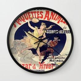 Vintage poster - Alcazar d'Hiver Wall Clock