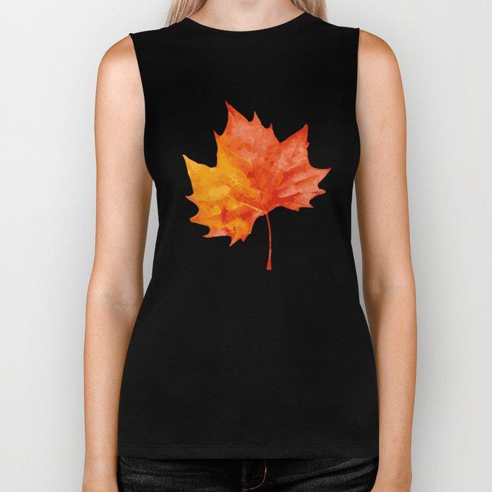 AutumnLeaves Biker Tank