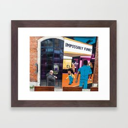 Impossibly Funky Framed Art Print