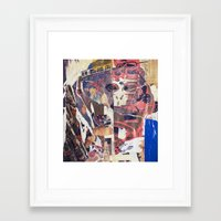 monkey Framed Art Prints featuring monkey by echo3005