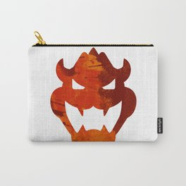 Bowser Head Carry-All Pouch