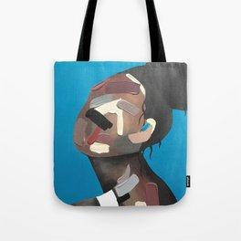 ABSTRACT WOMAN FACE no.3 Tote Bag