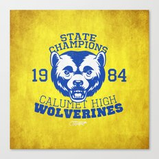 WOLVERINES! (YELLOW VARIANT) Canvas Print