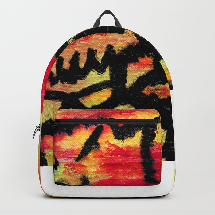Ghost painting Backpack