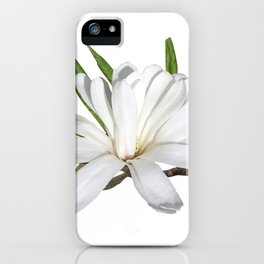 The Flower is the Star (Magnolia) iPhone Case