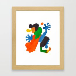 A Player Framed Art Print