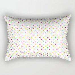 Polka Dot Pattern Rectangular Pillow