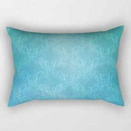 Ocean Lace Rectangular Pillow