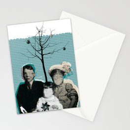 christmas portrait Stationery Cards