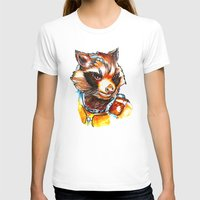 rocket T-shirts featuring Rocket by Nicolaine