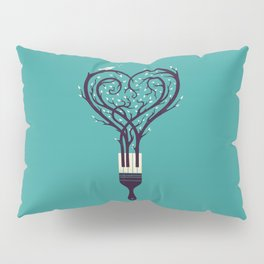 Paint Your Love Song Pillow Sham