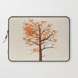 Blazing Fox Tree Laptop Sleeve