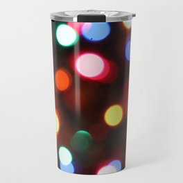 Colored Christmas Lights (2) Travel Mug