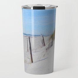 Van Gogh's Beach Travel Mug
