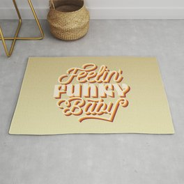 Funky baby,  for groovy people Rug