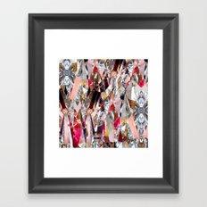 Crystal madness Framed Art Print