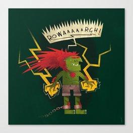 Electric Thunder Canvas Print