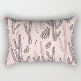 Pink desert secrets. Rectangular Pillow