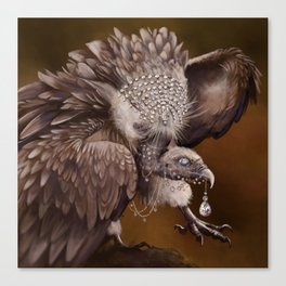 Necrophagy: Himilayan Vulture Canvas Print