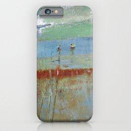 Harbour Abstract II - JUSTART (c) iPhone Case