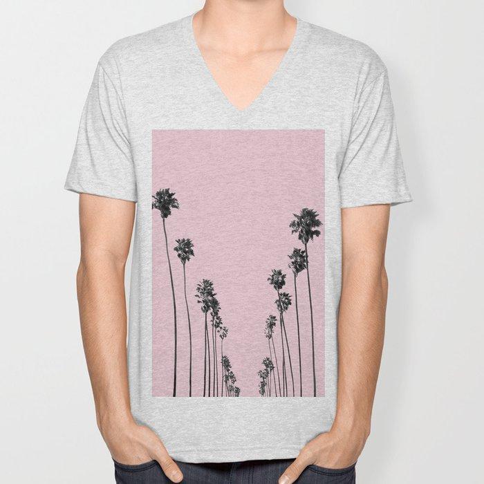 Palm trees 13 Unisex V-Neck