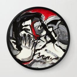 Spare Time Melancholy Wall Clock
