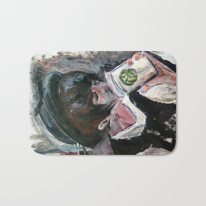 Coffee On The Go Bath Mat