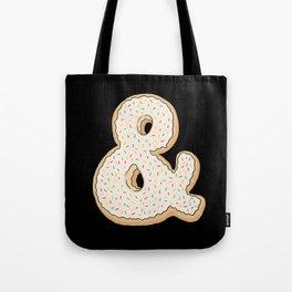 Ampersandonut Tote Bag
