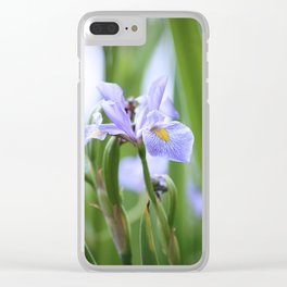 Oak Creek Pond Water Lily Clear iPhone Case
