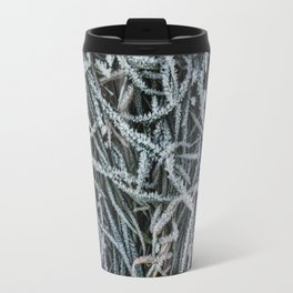 Frosty Grass Travel Mug