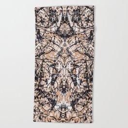 Reflecting Pollock Beach Towel