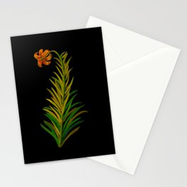Lilium Byzantinum by Mary Delany Paper Collage Floral Flower Botanical Paper Mosaic Vintage Scientif Stationery Cards