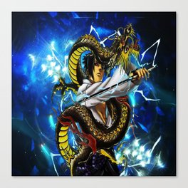 the dragon uciha Canvas Print