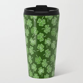 shamrocks Travel Mug