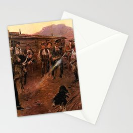 """""""The Tenderfoot"""" by Charles M Russell Stationery Cards"""