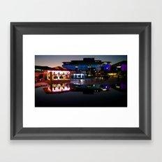 Millenium Square Framed Art Print